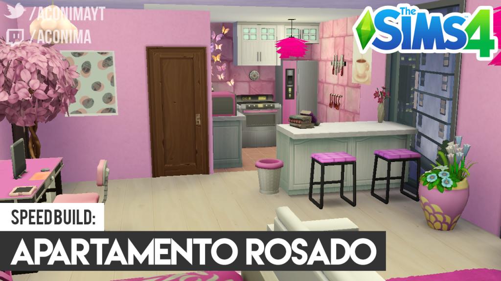 Sims 4 - Apartamento Rosado