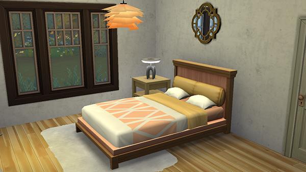 Dormitorio en Los Sims 4